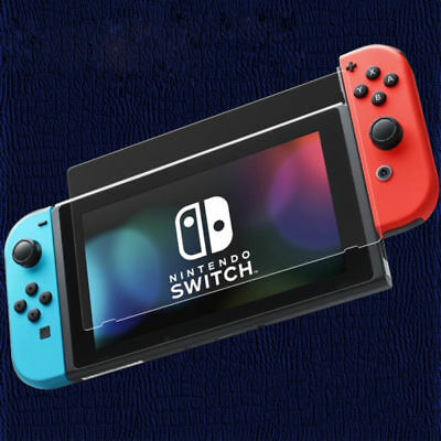 para Nintendo Switch Protector Pantalla Cristal templado CALIDAD Tempered Glass