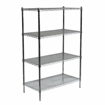 Sandusky Lee 72 x 18 in. NSF Chrome Wire Shelving