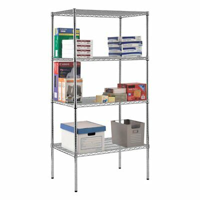 Sandusky Lee 36 x 24 in. NSF Chrome Wire Shelving