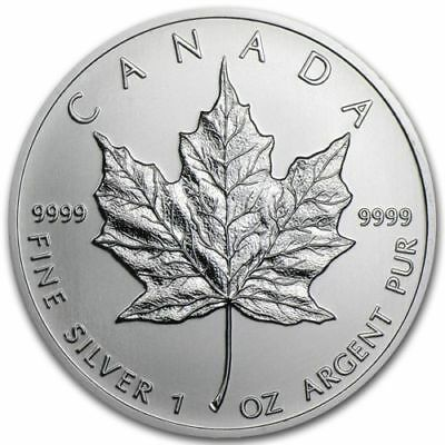 2013 RCM - $5 Maple Leaf  – .9999 Fine Silver Coin (1 oz.) Uncirculated
