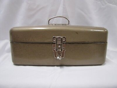 Union Steel Tackle Box Tool Box Vintage Union Steelchest Corp