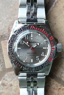Russian Mechanical Automatic Wrist Watch VOSTOK AMPHIBIAN DIVER 110649