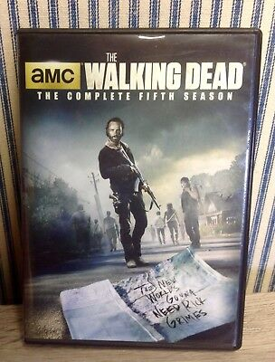 AMC The Walking Dead ~ The Complete Fifth Season ~ 5 Disc Set ~