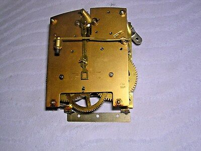 CLOCK  PARTS ,   BRASS CLOCK MOVEMENT,  SMITHS  a