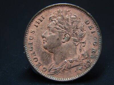 1822 George IIII Farthing Extremely High Grade