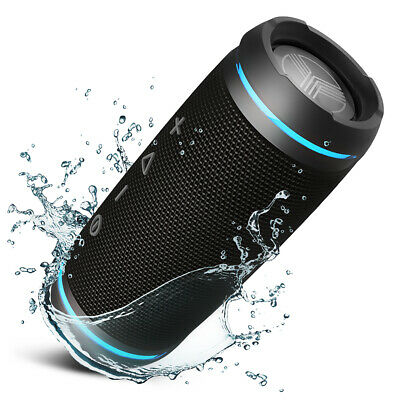 TREBLAB HD77 Bluetooth Speaker Portable Wireless Stereo 25W Water Resistant IPX6