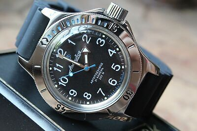 Russian Mechanical Automatic Wrist Watch VOSTOK AMPHIBIAN DIVER 120811