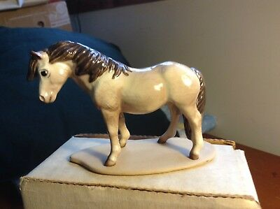Small Porcelain Pony Light Brown