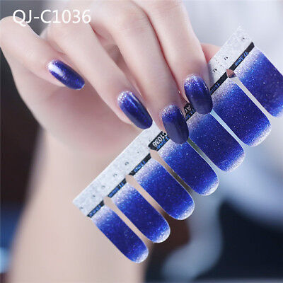 Nail Decals Lovely Gradient Manicure Decoration Nail Art Sticker for Ladies G