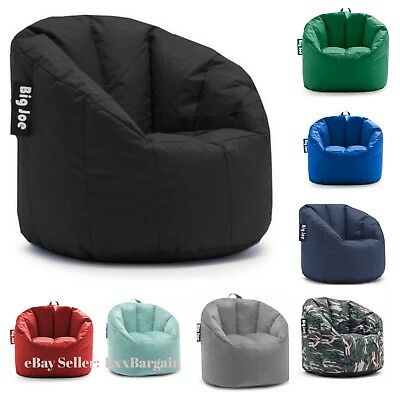 Marvelous Big Joe Bean Bag Comfortable Dorm Chair Limo Black Sports Short Links Chair Design For Home Short Linksinfo