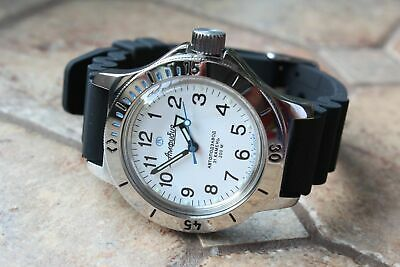 Russian Mechanical Automatic Wrist Watch VOSTOK AMPHIBIAN DIVER 120813