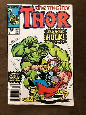 The Mighty Thor #385 Marvel ft the Hulk