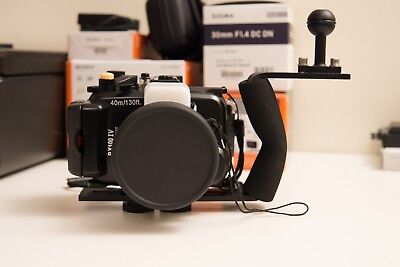 Meikon Underwater Housing for Sony RX100 III/IV with Wide Angle Dome