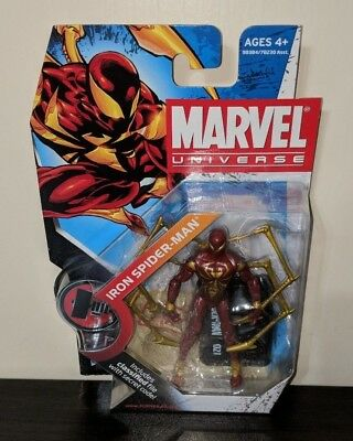 "Marvel Universe #021 Iron Spider 3.75"" Action Figure Brand New Hasbro Series 2"
