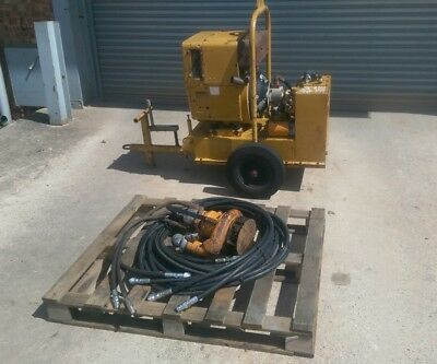Hydrainer Diesel Hydraulic Submersible Power Pack And Pump