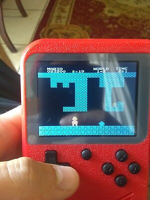 Gameboy Mini Retro Handheld Console 150+ games in 1 (Color/Backlit screen)
