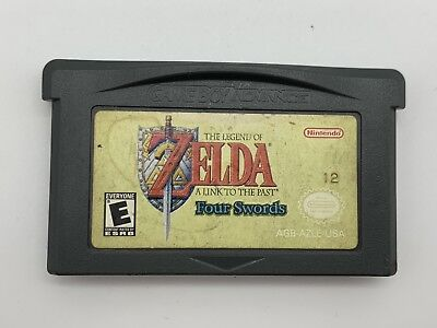 The Legend of Zelda A Link to the Past Four Swords Gameboy Advance Worn Sticker