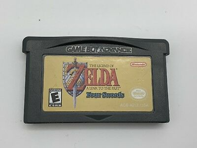 The Legend of Zelda A Link to the Past Four Swords for Gameboy Advance Nice!
