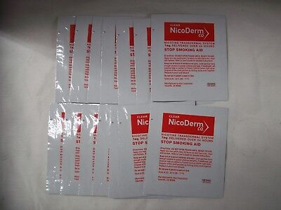 NicoDerm CQ Step 3 Patches 7mg, 14 Clear Patches, Exp. 11/18 ~ FREE SHIPPING!
