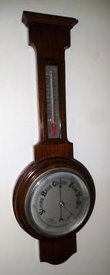 Vintage  Mahogany Case Barometer English Made,good Working Condition.