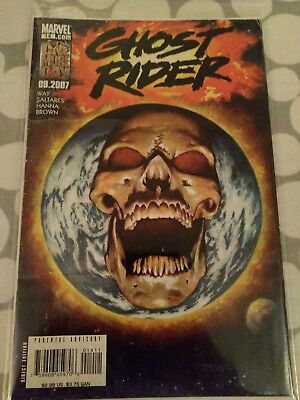Ghost Rider comic issue 14 Modern Age First Print 2007 Way Saltares Texeira