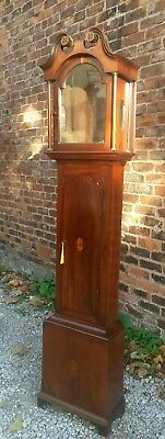 antique 18th century mahogany grandfather clock case UK delivery available