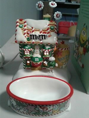 M&MS Christmas Candy Dish