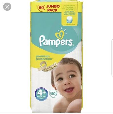 Pampers premium protection 4 +
