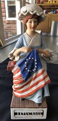 BETSY ROSS McCORMICK DECANTER THE PATRIOTS SERIES