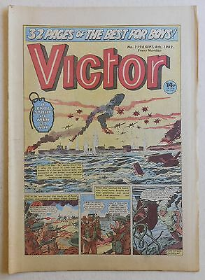 VICTOR Comic #1124 - 4th September 1982