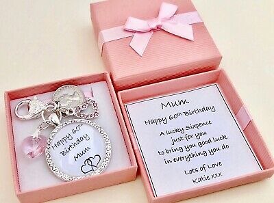 16TH BIRTHDAY GIFT PERSONALISED CABOCHON CHARM LUCKY SIXPENCELovely Gift Box