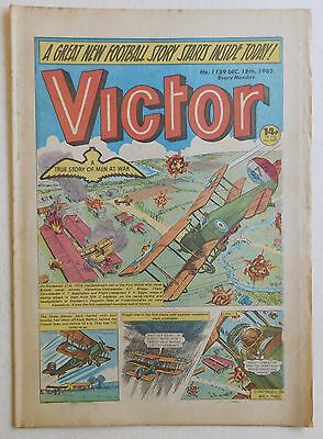 VICTOR Comic #1139 - 18th December 1982