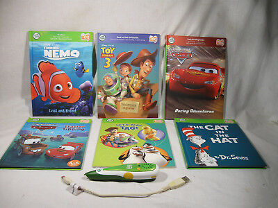Leap Frog Tag Reader 6 Book Set With Pen