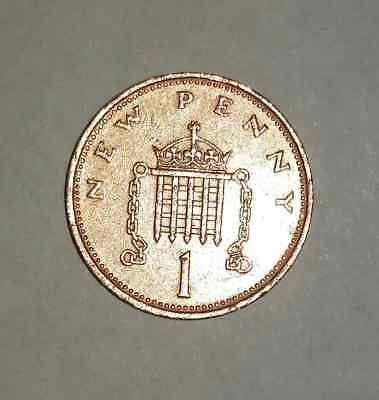 Rare New Pence Coin - 1p - 1971, 1974 - 1981