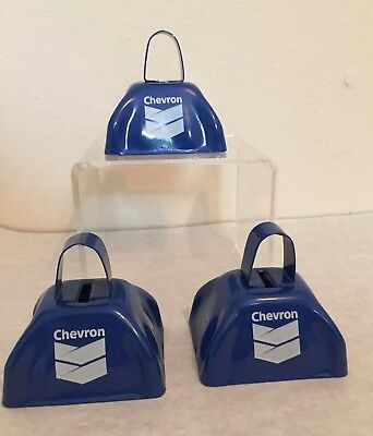 Chevron Corporation Cow Dinner Bells Gas & Oil Promotional Giveaway? Advertising
