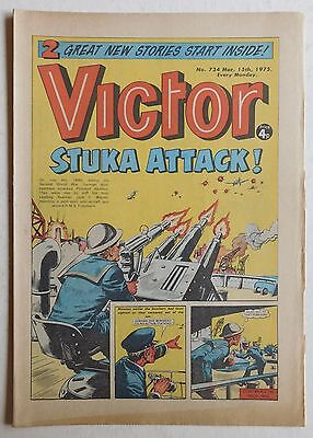 VICTOR Comic #734 - 15th March 1975