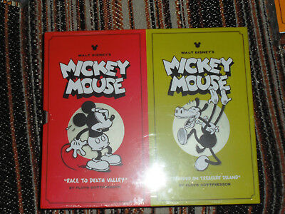Walt Disney's Mickey Mouse Collector's Box Set (Vol. 1-2) Hardcover Slipcase