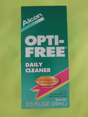 Alcon Opti-Free Daily Cleaner - 2/3 oz - Expired 06-2018