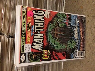 #1   The  Man-Thing   Nm    Sale 50% To 70% Discount