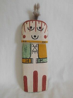 "Old Style Hopi Indian ""hahai-Wuhti"" Flat Kachina By Award Winner Dwight Monongye"