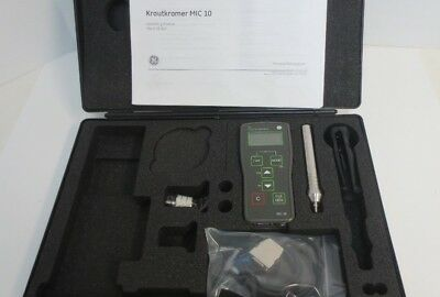 Krautkramer GE Inspection MIC10 Hardness Tester AND ACCESSORIES