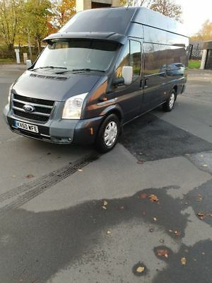 2010 60reg Ford Transit Trend R 3.2. Top Spec 200ps, Ideal camper conversion
