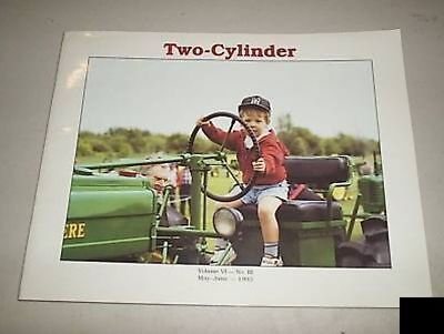 John Deere Two Cylinder Tractor Magazine May June 1993
