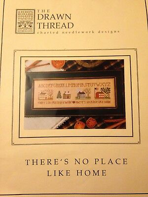 The Drawn Thread, There's No Place Like Home, Cross Stitch Chart, Used