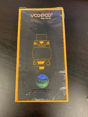 *NEW* Authentic VooPoo Black UForce T2 Tank