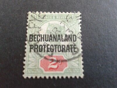 Bechuanaland Protectorate 1897 QV Used Stamp
