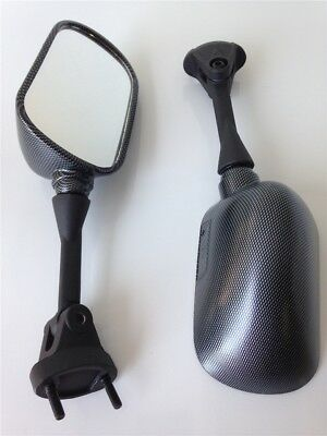 Side Racing Mirrors For Kawasaki Ninja 2004-2008 Kawasaki ZX-10R