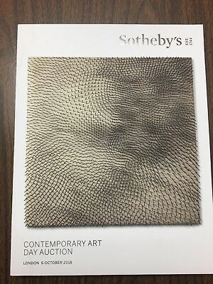 Sotheby's Contemporary Art Day Auction 6 October 2018