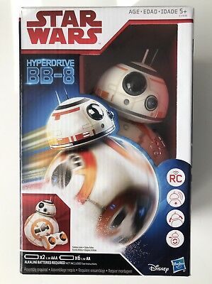 Disney Star Wars The Last Jedi Remote Controlled Hyperdrive BB-8 By Hasbro