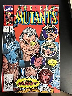 THE NEW MUTANTS  #87 (1983 1st Cable! NM)